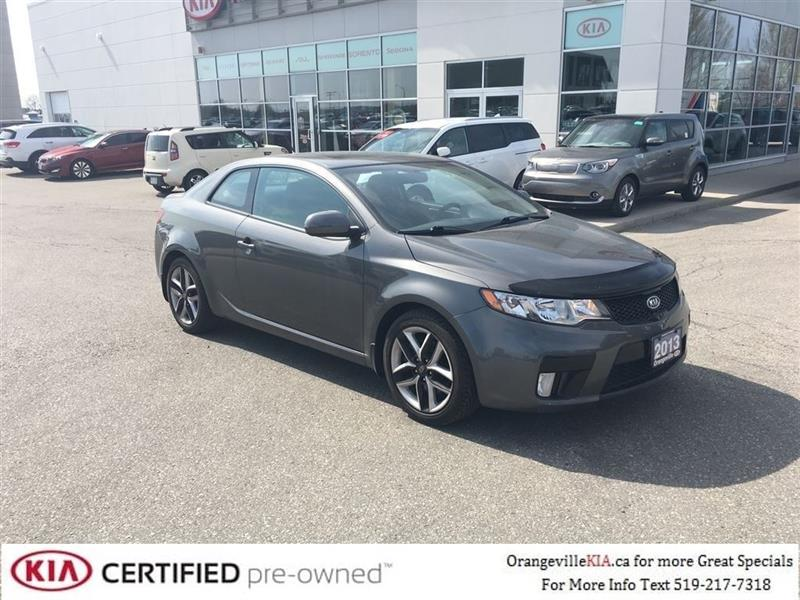 2013 Kia Forte Koup SX Automatic - Leather/Sunroof, Trade-in #K0620A
