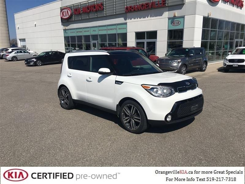 2015 Kia Soul SX Luxury Auto - Trade-in #85092A