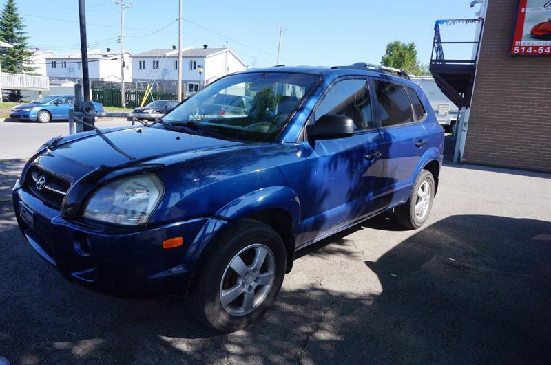 Hyundai Tucson 2007 FWD 4dr I4 GL NEGOCIABLE #18-049