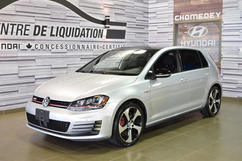 Volkswagen Golf 2016 GTI Performance+TOIT #S8012