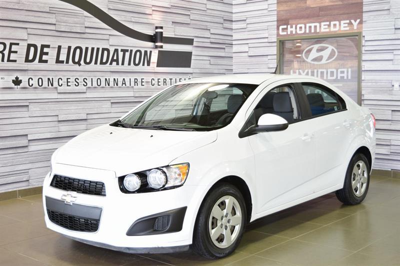 Chevrolet Sonic 2012 LS+a/c #S8055