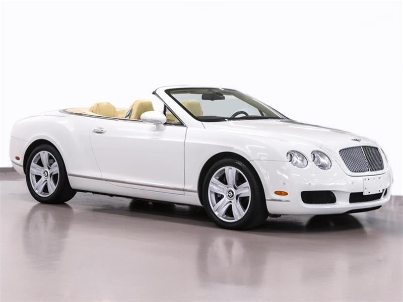 2007 bentley continental gtc rare clean car proof used for sale in
