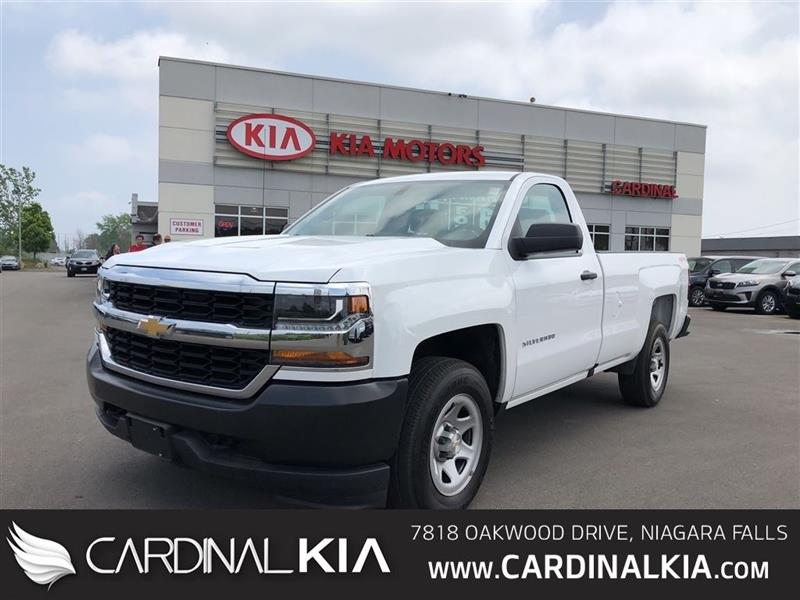 2016 Chevrolet Silverado 1500 WT   ULTRA CLEAN   READY TO WORK! #7076