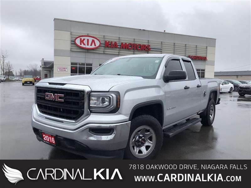2016 GMC Sierra 1500 DOUBLE CAB   4.3L   POWER GROUP   RUNNING BOARDS! #7058