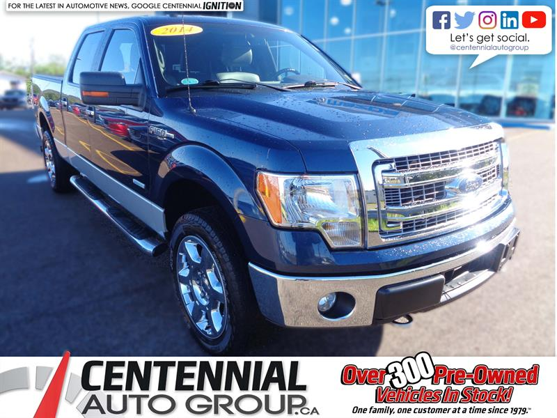 2014 Ford F-150 4WD SuperCrew #U10761