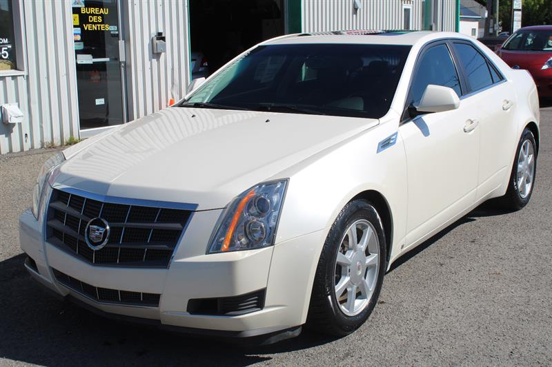 Cadillac CTS 2008 4dr Sdn w-1SA #PV6696
