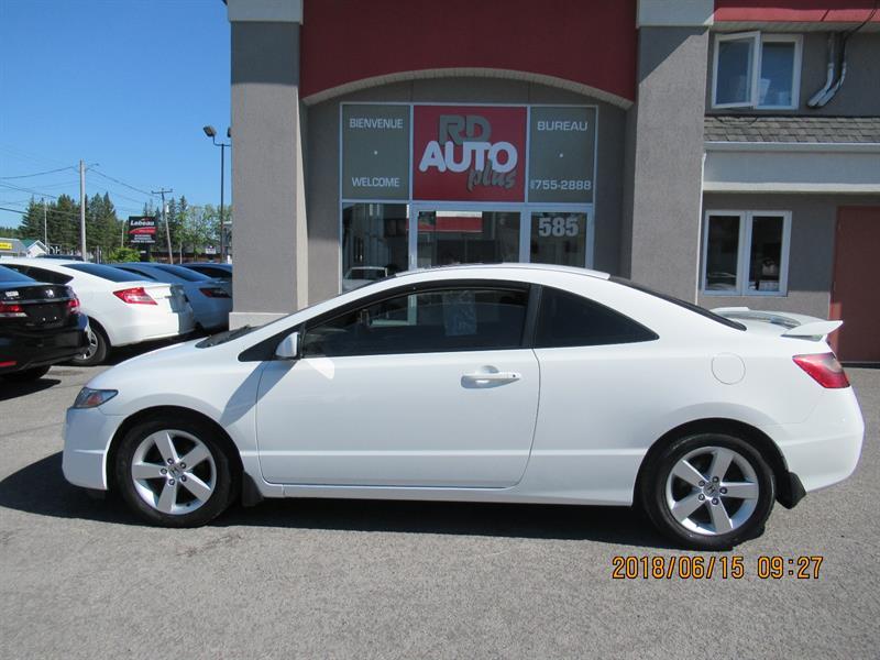 Honda Civic 2010 2dr Auto LX SR***toit ouvrant*** #9814