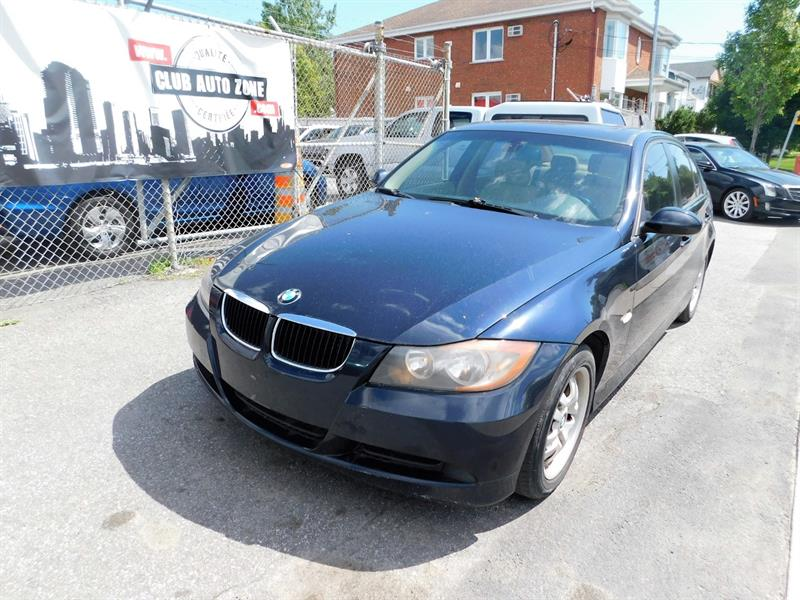 2006 BMW 323 323i TOIT OUVRANT CRUISE CONTROL #6AW18075