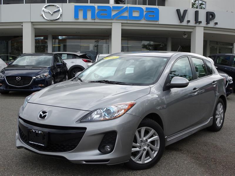2012 Mazda MAZDA3 GS, SKY, SUNROOF, LEATHER #8332A