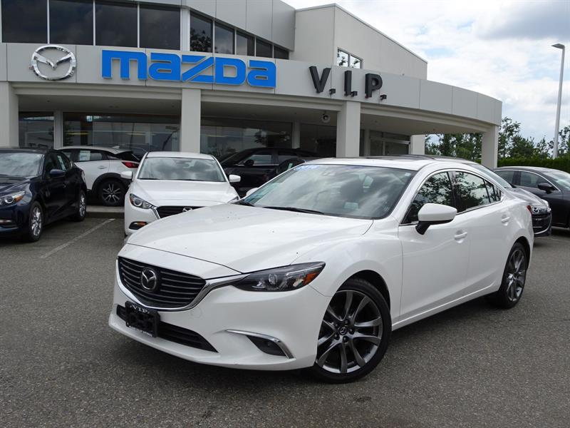 2016 Mazda MAZDA6 GT, TECH PACKAGE, AUTO #B8361