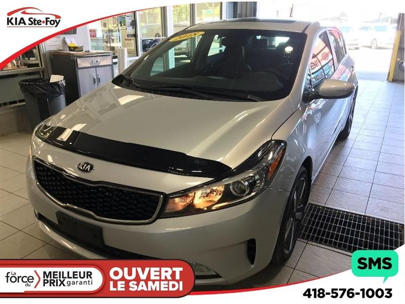 Kia Forte5 2018 **EX LUXE** NEUF * CUIR * TOIT * MAGS * #181135A