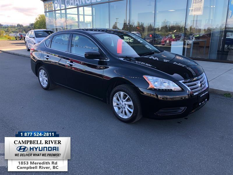 2015 Nissan Sentra SV Used for sale in Campbell River at Campbell ...