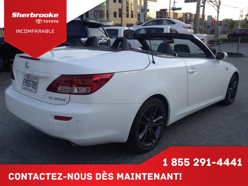 2014 Lexus Is 350c 2dr Convertible FSport Demonstrator For Sale In  Sherbrooke At Sherbrooke Toyota