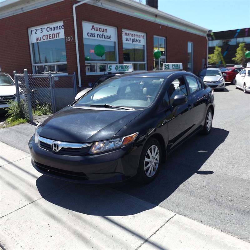 Honda Civic Sdn 2012 4dr Man DX #2227-05