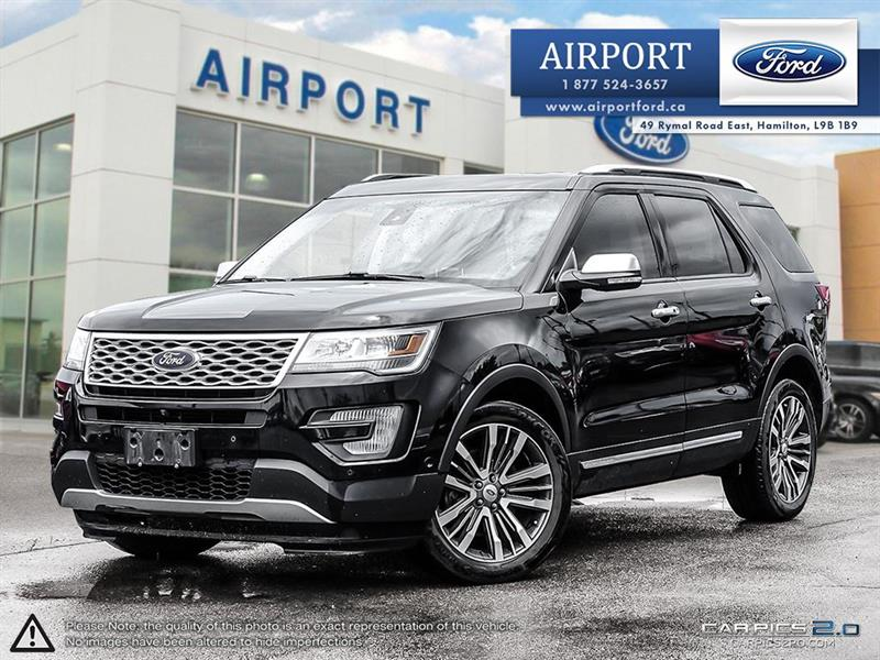 2016 Ford Explorer 4WD Platinum with only 29,715 kms #A80591
