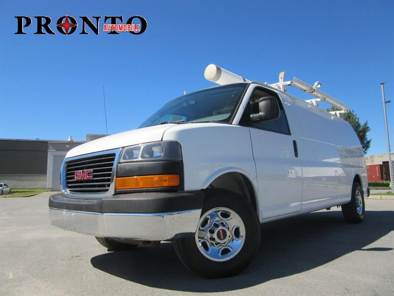 GMC Savana Cargo Van 2011 2500 Allongé extended ** Full rack **  #3643