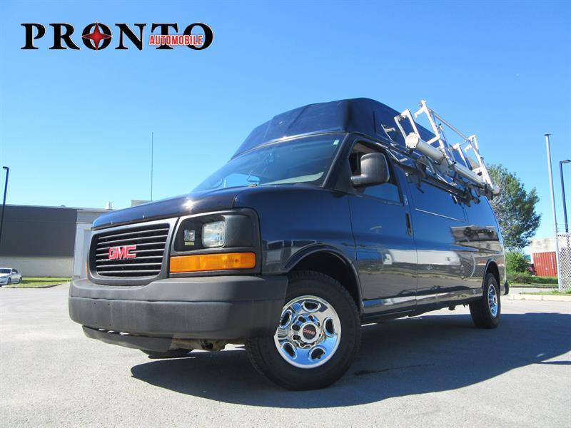 GMC Savana Cargo Van 2009 3500 155 Toit surélevé ** Voir équipement ** #3644