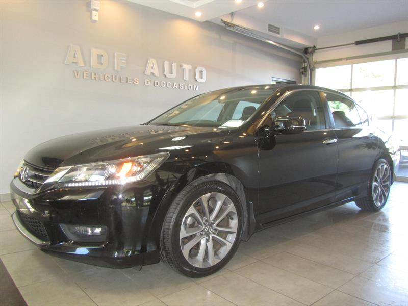 Honda Accord Sedan 2014 SPORT CAMÉRA DE RECUL #4303