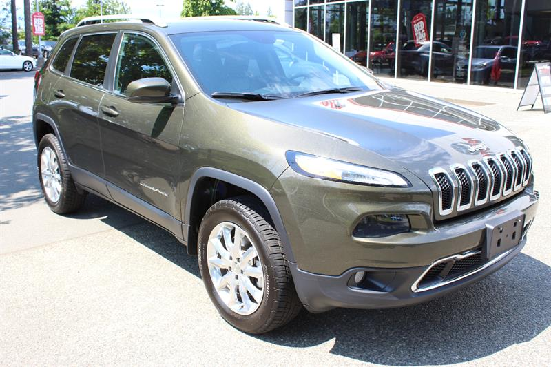 2015 Jeep Cherokee 4WD 4dr Limited #P2085