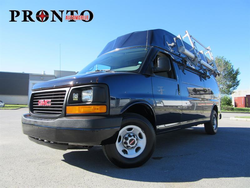 GMC Savana Cargo Van 2008 RWD 3500 155 Allongé Toit surélevé #3646