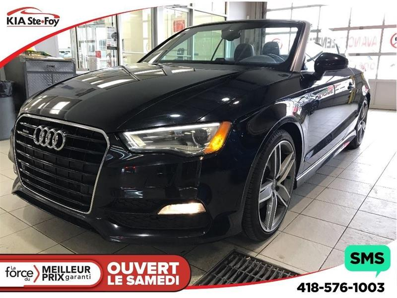 Audi A3 2015 **TECHNIK**TURBO* AWD * * CUIR * GPS * #181156A
