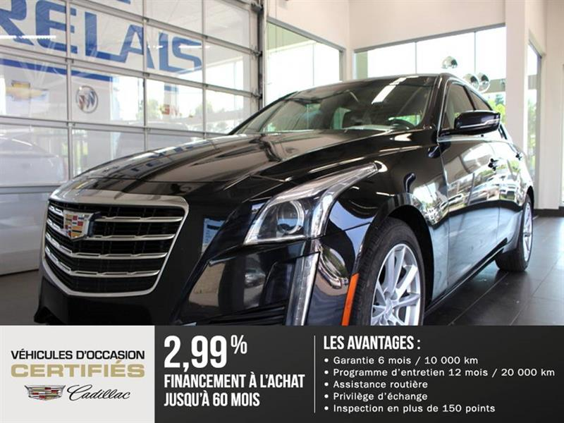 Cadillac CTS Sedan 2017 4dr Sdn 2.0L Turbo - Cuir #82925