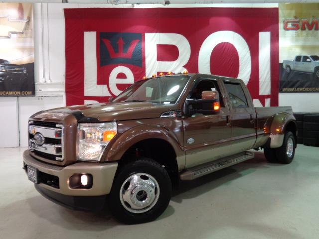 Ford F-350 2012 KING RANCH FX4 DIESEL DRW #A4880