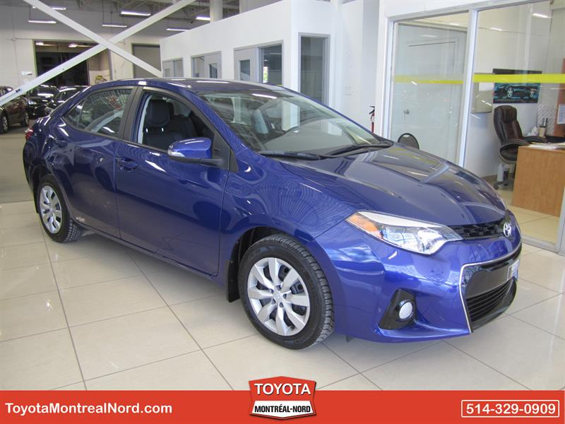 Toyota Corolla 2014 S Man/Ac/Vitres,Portes,Miroirs Electriques #3871 AT