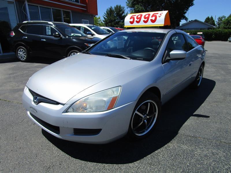 Honda Accord Cpe 2004 2dr Cpe LX Manual #2287b