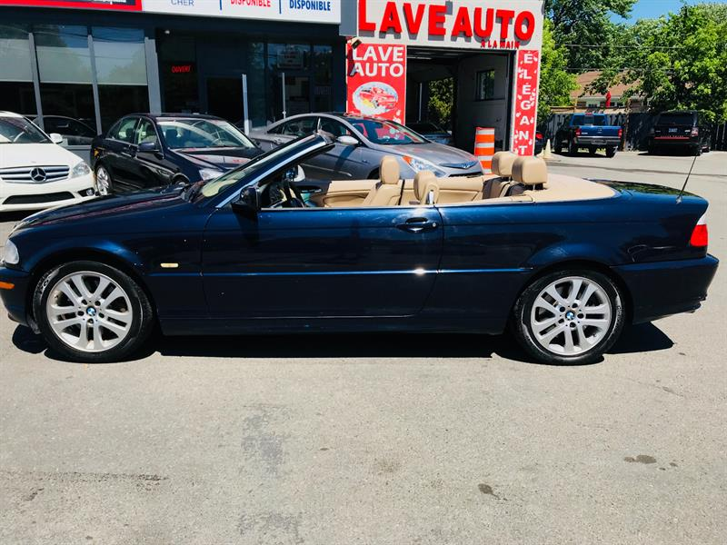 2002 Bmw 3 Series 330ci Convertible Auto Jamais Accidentee Used For