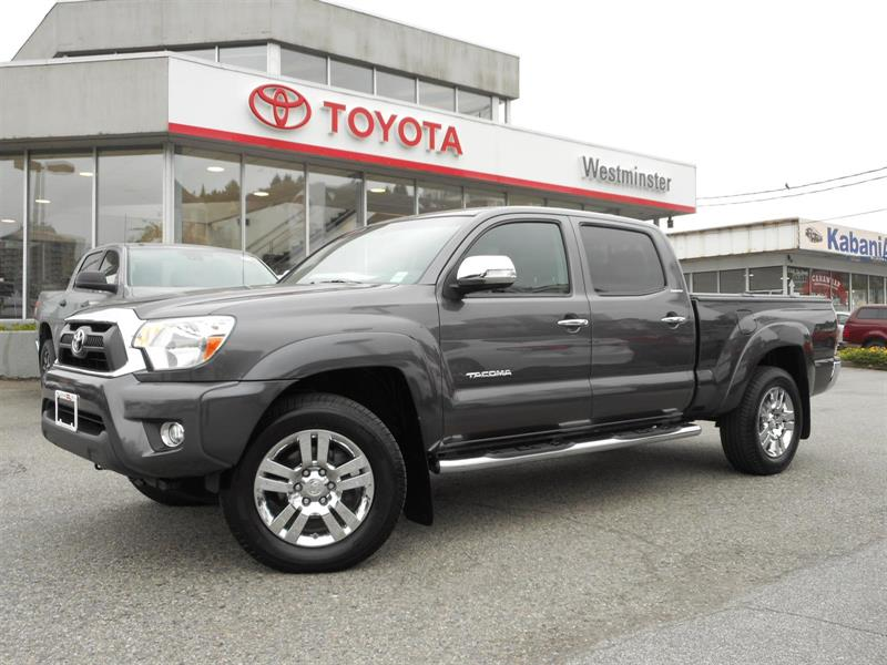 2015 Toyota Tacoma Limited #TT18690A