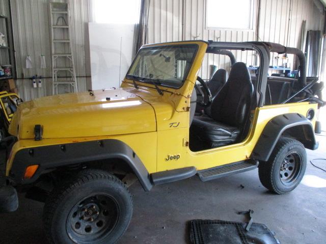Jeep TJ 2000 2dr SE #18-105