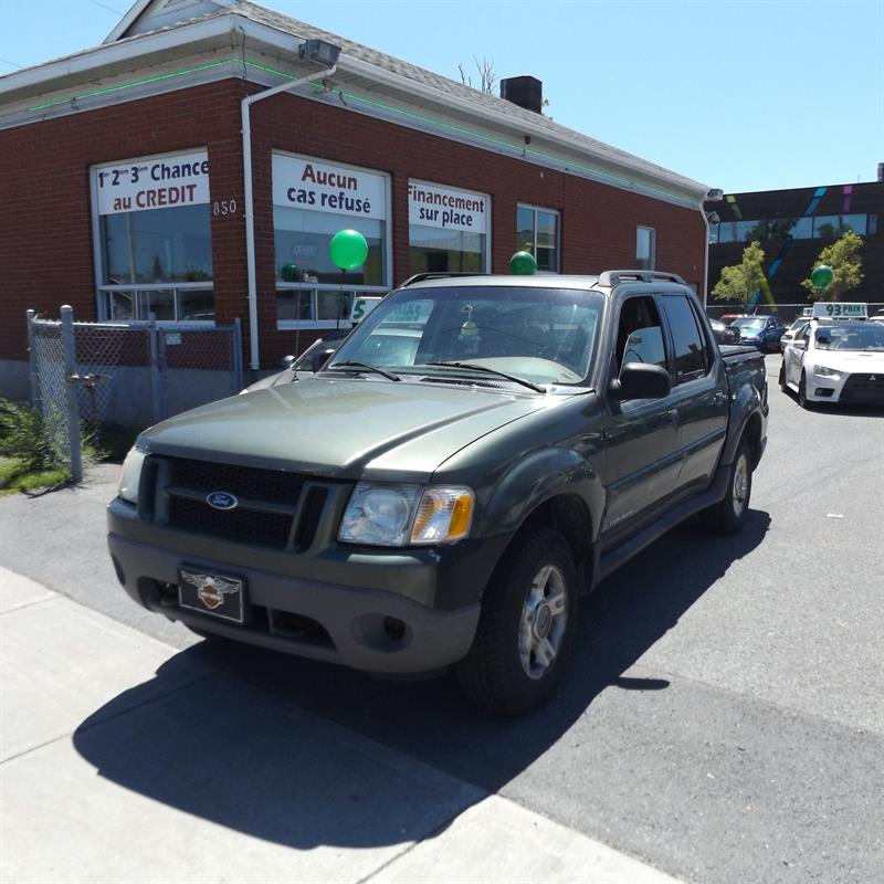 Ford Explorer Sport Trac 2002 4dr 126 WB 4WD #2280-06