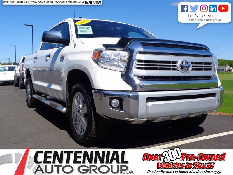 2015 Toyota Tundra CrewMax | Platinum | 4x4 | #S18-095A