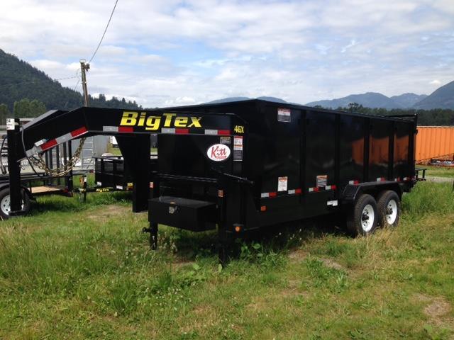 2019 Bigtex 14GX-14 P4 7x14  GN Dump