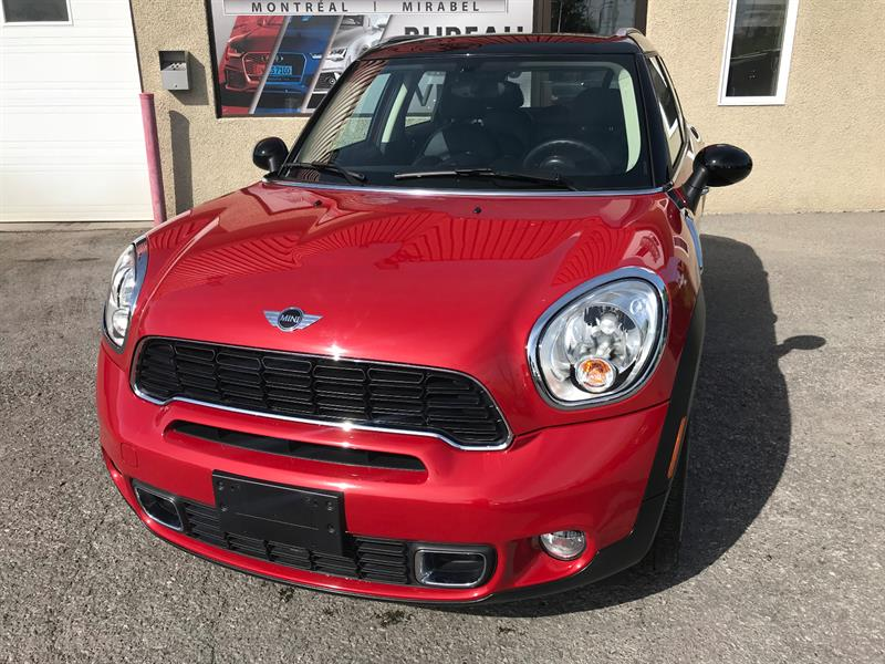 Mini Cooper Countryman 2014 S ALL4 AUTOMATIQUE, TOIT CUIR  #6196