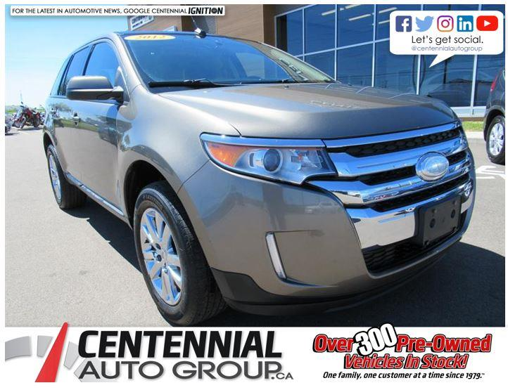 2012 Ford EDGE SEL AWD | Fully Loaded | Leather #U519