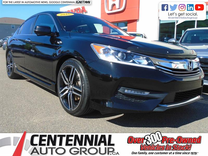 2016 Honda Accord Sedan Sport | Honda Sensing | Bluetooth |  #9291A