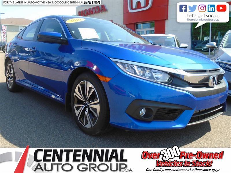 2016 Honda Civic Sedan EX-T   Bluetooth   Backup Camera    #9253A