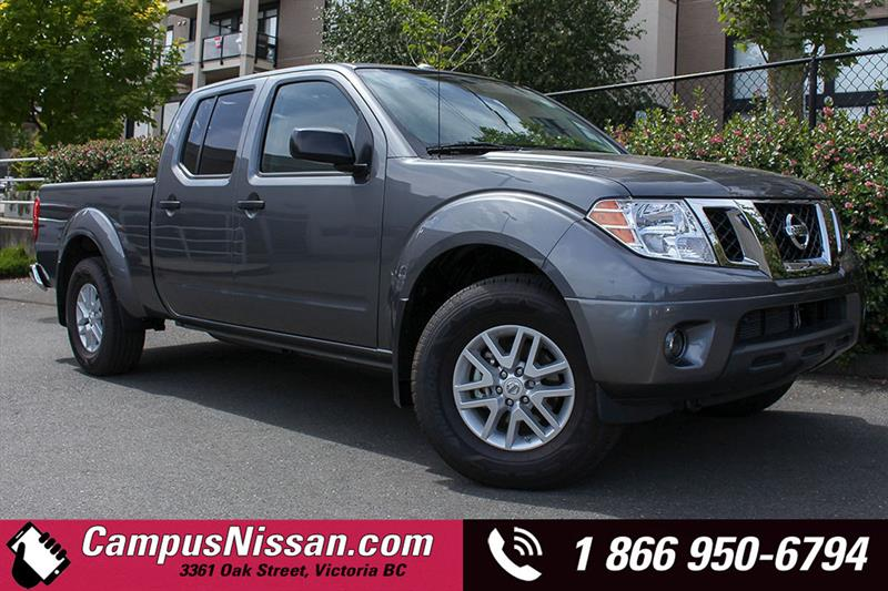 2018 Nissan Frontier Crew Cab Bed 4x4 Auto #D8-T002