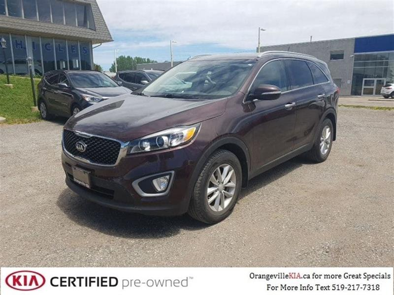 2016 Kia Sorento LX 2.4L - Trade-In, CarProof $0 #88054B