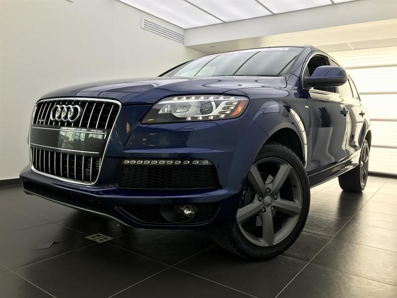 Audi Q7 Navigation, Bose 2015