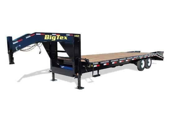 2019 Bigtex 14GN-25 8.5x25 Flatdeck