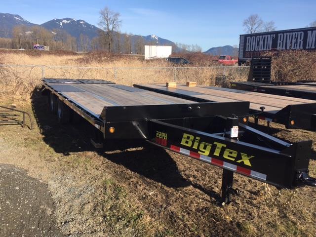 2020 Bigtex 22PH-25 8.5x25 Flatdeck