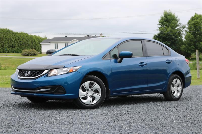 Honda Civic Sedan 2014 CVT LX #01
