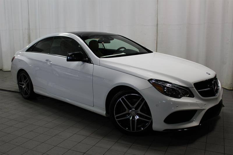 Mercedes-Benz E400 2016 4MATIC Coupe NIGHT PACKAGE JANTES AMG #U18-0552A
