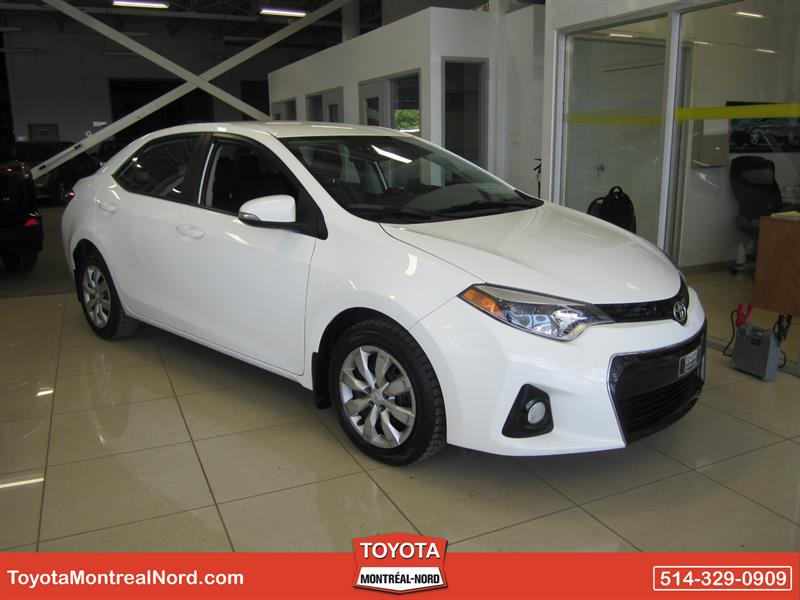 Toyota Corolla 2014 S Aut/Ac/Vitres,Portes,Miroirs Electriques #3752 AT