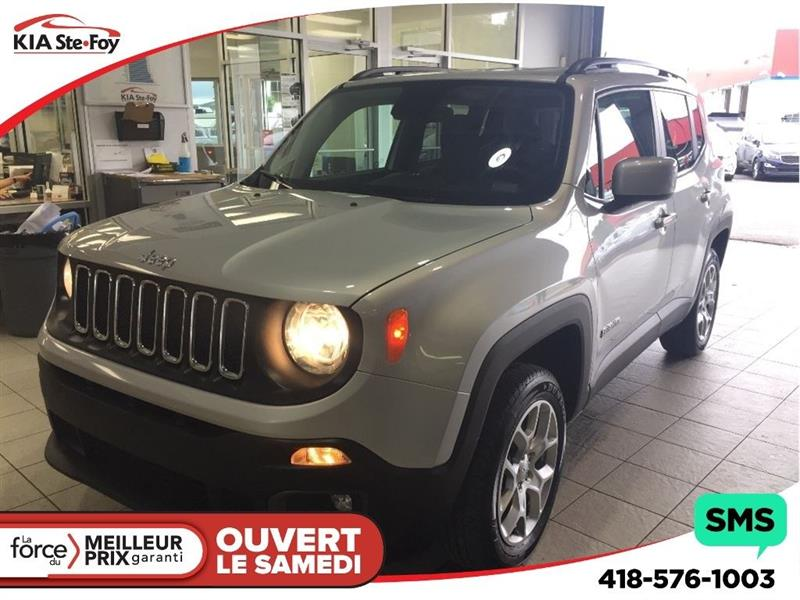 Jeep Renegade 2016 **NORTH** 4X4 * A/C * VOLANT CHAUFFANT * MAGS * #180437A