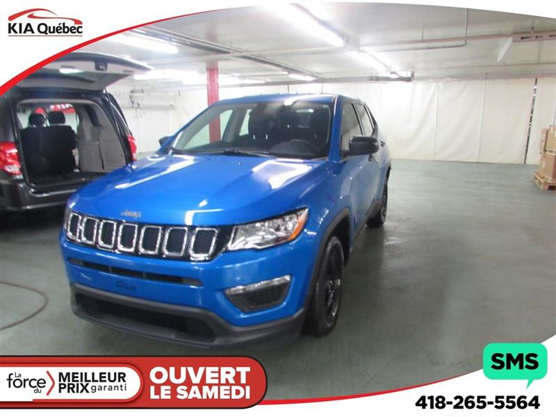 Jeep Compass 2018 Sport *AUTOMATIQUE* BOUTON POUSSOIR* #K181358A