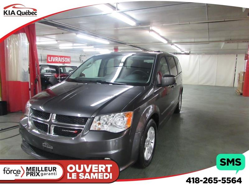 Dodge Grand Caravan 2017 Crew *STOW N GO* 7 PLACES #QU10238